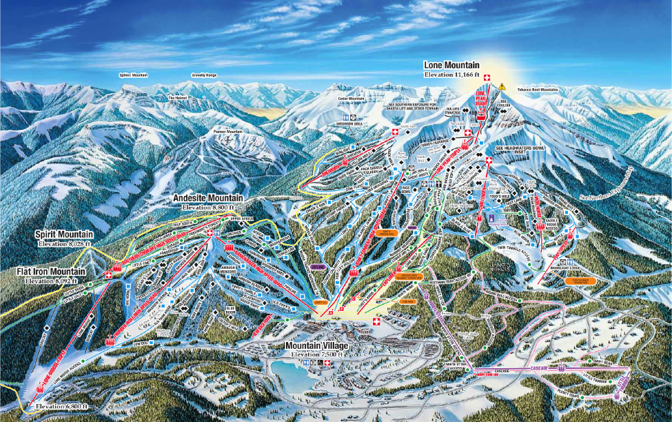 Big Sky Ski Resort Trail Map | Montana Ski Resort Maps Montana Ski Resorts Map on montana resort towns, mt. snow trail map, montana average temperatures by month, mt. rose ski area map, great divide ski map, montana ski areas, montana hotels map, montana ski towns, new york city tourist attractions map, mt. baldy ski trail map, montana whitefish mountain resort, tremblant canada map, red lodge ski resort map, mt spokane ski map, montana road conditions map webcams, red lodge trail map, resorts in montana map, montana snotel data, montana scenic drives map, montana hiking map,